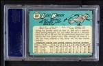 1965 Topps #540  Lou Brock  Back Thumbnail