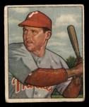 1950 Bowman #228 ^CR^ Bill Nicholson  Front Thumbnail