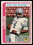 1978 Topps #427  Dexter Bussey  Front Thumbnail