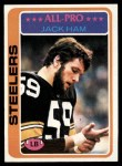 1978 Topps #450  Jack Ham  Front Thumbnail