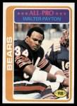 1978 Topps #200  Walter Payton  Front Thumbnail