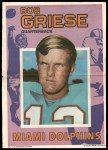 1971 Topps Posters #7  Bob Griese  Front Thumbnail
