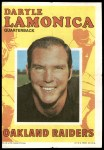 1971 Topps Posters #21  Daryle Lamonica  Front Thumbnail