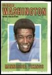 1971 Topps Posters #23  Gene Washington  Front Thumbnail
