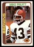1978 Topps #93  Mike Pruitt  Front Thumbnail