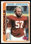 1978 Topps #27  Mark Arneson  Front Thumbnail
