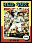 1975 Topps #430  Luis Tiant  Front Thumbnail