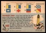 1955 Topps Rails & Sails #143   Indian Canoe Back Thumbnail