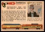 1955 Topps Rails & Sails #6   Camelback Locomotive Back Thumbnail