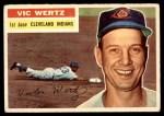 1956 Topps #300  Vic Wertz  Front Thumbnail