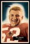 1955 Bowman #46  Billy Johnson  Front Thumbnail