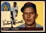 1955 Topps #136  Bunky Stewart  Front Thumbnail