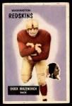 1955 Bowman #80  Chuck Drazenovich  Front Thumbnail