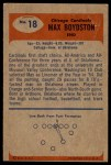 1955 Bowman #18  Max Boydston  Back Thumbnail