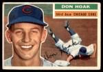 1956 Topps #335  Don Hoak  Front Thumbnail