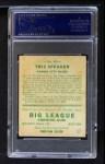 1933 Goudey #89  Tris Speaker  Back Thumbnail