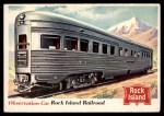 1955 Topps Rails & Sails #77   Observation Car Front Thumbnail
