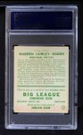 1933 Goudey #174  Warren Ogden  Back Thumbnail