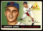 1955 Topps #78  Gordon Jones  Front Thumbnail