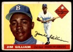 1955 Topps #5  Jim Gilliam  Front Thumbnail