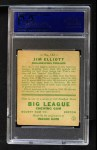 1933 Goudey #132  Jim Elliott  Back Thumbnail