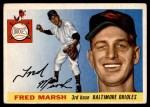 1955 Topps #13  Fred Marsh  Front Thumbnail
