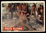 1956 Topps Davy Crockett #31 ORG  Fists Flying  Front Thumbnail