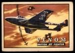 1952 Topps Wings #72   Venom Front Thumbnail