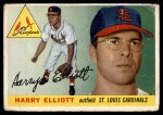 1955 Topps #137  Harry Elliott  Front Thumbnail