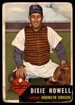 1953 Topps #255  Dixie Howell  Front Thumbnail