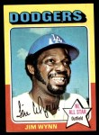 1975 Topps Mini #570  Jim Wynn  Front Thumbnail