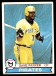1979 Topps #430  Dave Parker  Front Thumbnail