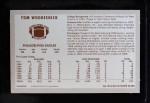 1970 Kellogg's #30  Tom Woodeshick  Back Thumbnail