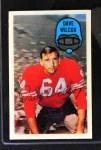 1970 Kellogg's #28  Dave Wilcox  Front Thumbnail