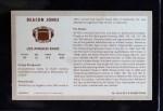 1970 Kellogg's #38  Deacon  Jones  Back Thumbnail