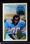 1970 Kellogg's #43  George Webster  Front Thumbnail