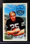 1970 Kellogg's #50  Fred Biletnikoff  Front Thumbnail