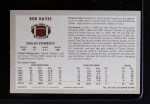 1970 Kellogg's #39  Bob Hayes  Back Thumbnail