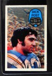 1970 Kellogg's #19  Dick Post  Front Thumbnail