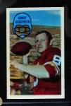 1970 Kellogg's #53  Sonny Jurgensen  Front Thumbnail