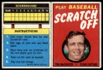 1971 Topps Scratch Offs #13  Tim McCarver  Front Thumbnail