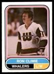 1975 O-Pee-Chee WHA #52  Ron Climie  Front Thumbnail