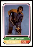 1975 O-Pee-Chee WHA #48  Cam Connor  Front Thumbnail
