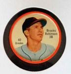 1962 Salada Coins #40  Brooks Robinson  Front Thumbnail