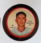 1962 Salada Coins #96  Gene Woodling  Front Thumbnail