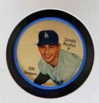 1962 Salada Coins #109  Sandy Koufax  Front Thumbnail