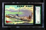 1955 Topps Rails & Sails #168   Surf Boat Front Thumbnail