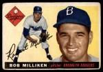 1955 Topps #111  Bob Milliken  Front Thumbnail