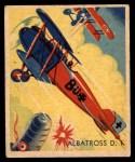 1933 National Chicle Sky Birds #83   Albatross D. 1 Front Thumbnail