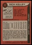 1979 Topps #86  Rich Kelley  Back Thumbnail